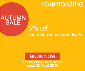 Roomorama Autumn Sale
