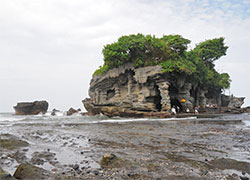 Tanah Lot at Low Tide