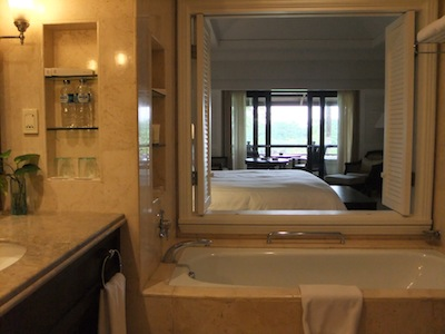 Pan Pacific Bali room with ocean view