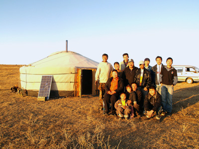 Mongolian Ger by Jessie Ponce via https://www.flickr.com/photos/photosbyjessieponce/3986231956/