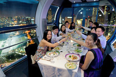 Singapore Flyer Private Capsule via http://www.singaporeflyer.com