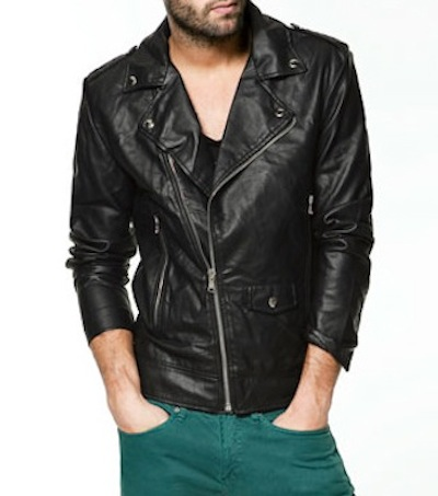 Zara Leather Jacket via http://www.zara.com
