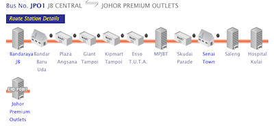 Shuttle Bus to Johor Premium Outlets