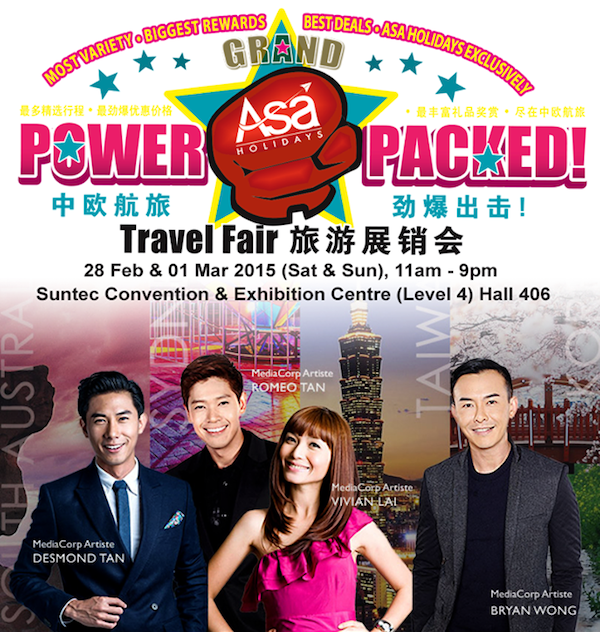 ASA Holidays Travel Fair 2015 via https://asaholiday.com