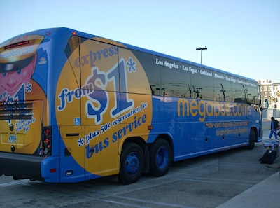 Megabus by Chris via https://www.flickr.com/photos/hercwad/2417811355/