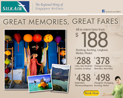 Silkair Promotion 2013