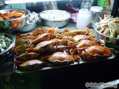 Seafood in Ho Chi Minh City
