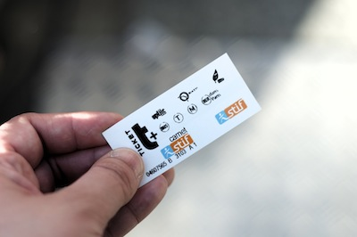 Paris Metro Ticket by clogsilk via https://www.flickr.com/photos/clogsilk/5611412056/