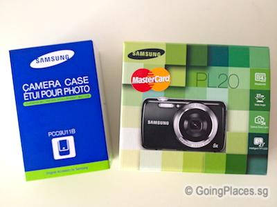 Samsung Camera & Case