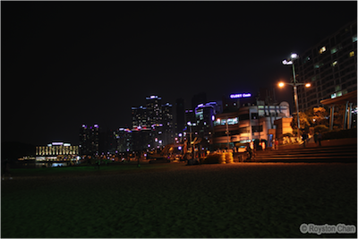 Haeundae Beach Night View