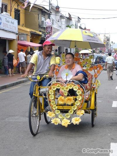 Trishaw At Jonker Street