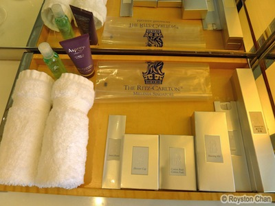 Shower Amenities Asprey London