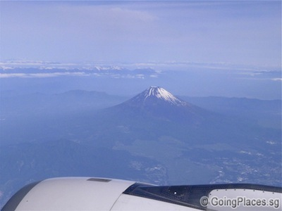 Mount Fuji View From The Plane