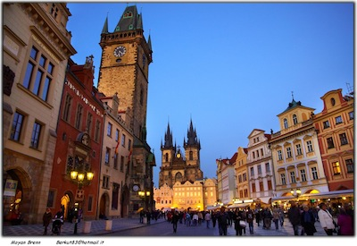 Prague by Moyan Brenn via http://earthincolors.com