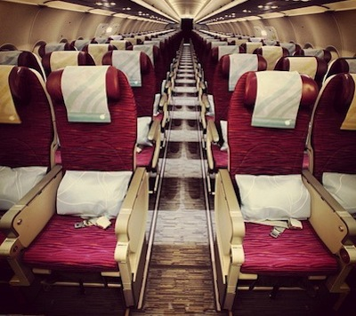 Qatar Airways Eeconomy Seats