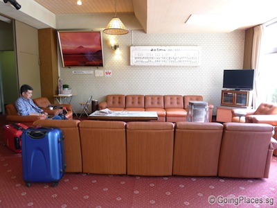 Reception Area With Free Wi Fi