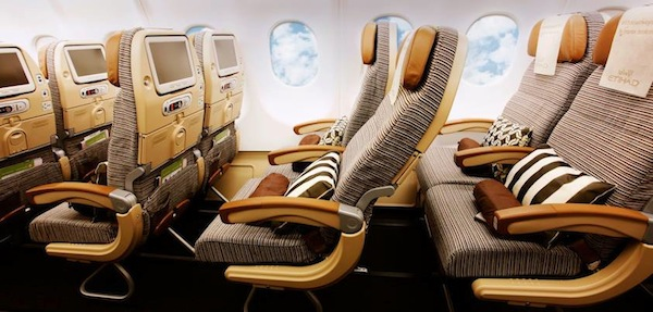 Etihad Airways Economy Class Seats