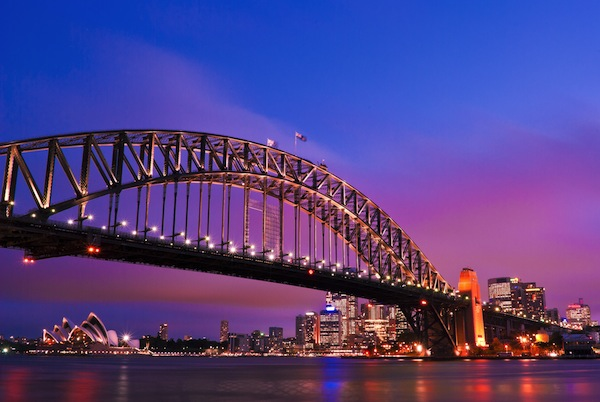 Sydney habour bridge