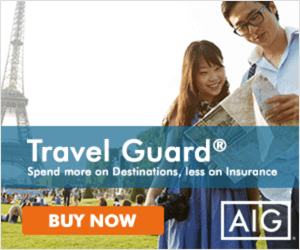 Spend more on Destination, less on Insurance - AIG Travel Guard