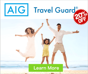 AIG Travel Insurance Promo