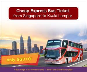 $10 Bus from Singapore to Kuala Lumpur