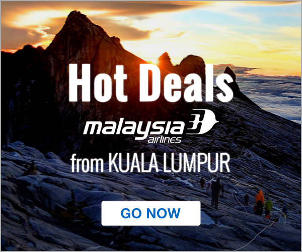 Malaysia Airlines Deals from Kuala Lumpur