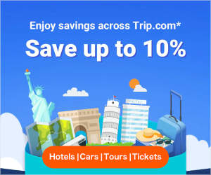 Trip.com Save up to 10%