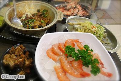 Taipei Seafood Dinner