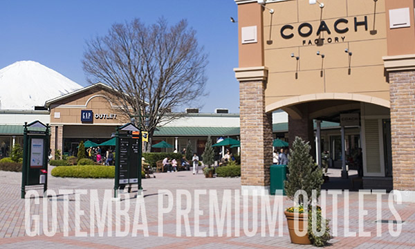 Gotemba Premium Outlets - Photo via www.premiumoutlets.co.jp/en/gotemba/