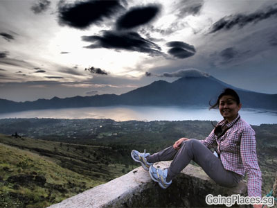 Top of Mount Batur