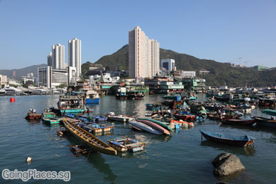 Aberdeen Harbour Hong Kong © philipus - Fotolia.com