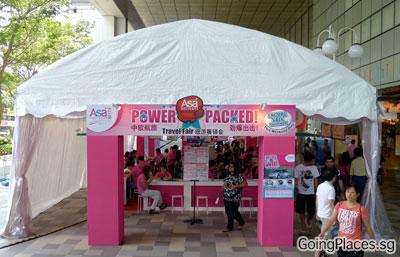ASA Holiday Pre NATAS Fair at Suntec Singapore