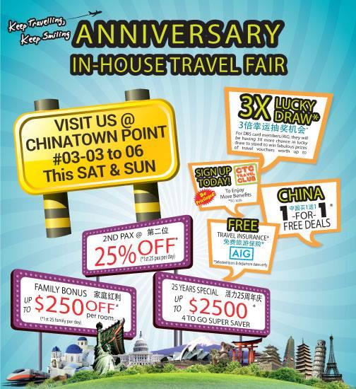 CTC Travel Fair 2015 via www.ctc.com.sg