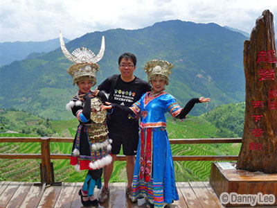Guilin Longji Rice Terrace minority tribes