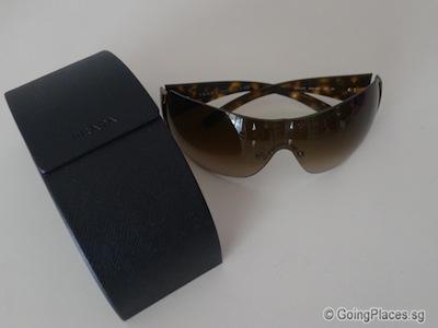 Prada Sunglass With Case