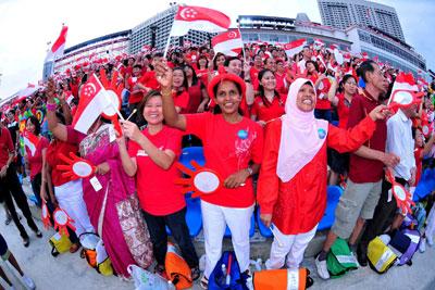 Multi-racial Singapore