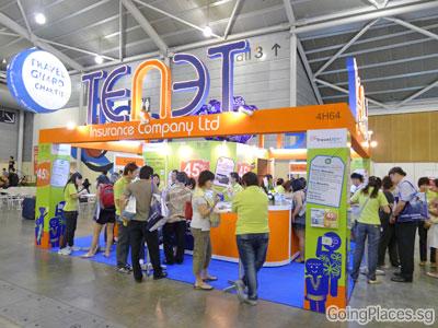 Tenet Insurance at Natas Fair 2011