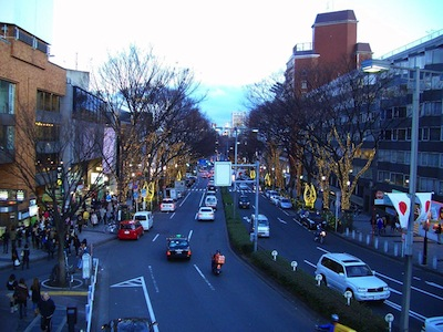 Omotesando by Michael Vito via https://www.flickr.com/photos/michaelvito/5225008684/
