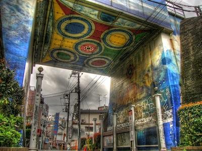 Shimokitazawa Wall Painting by Guwashi999 via https://www.flickr.com/photos/guwashi999/2407176582/