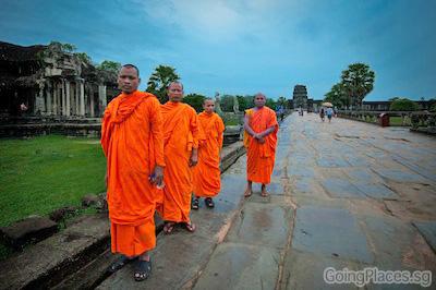 Angkor Wat Cambodia by Calvin Shi