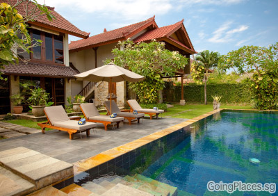 Bali Villa with Swimming Pool