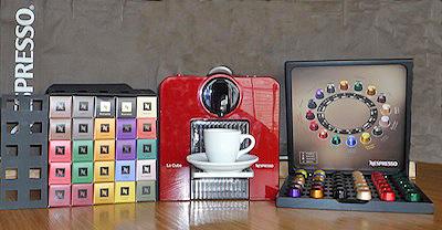 Nespresso Coffee Machine by Danie van der Merwe via https://www.flickr.com/photos/dvdmerwe/5748075190/