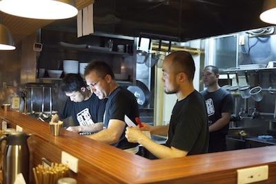 Working in Japanese Restaurant by Kim Ahlström via https://www.flickr.com/photos/kimtaro/4678568347