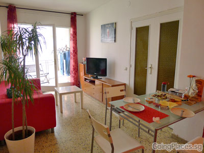 Short-term apartment rental