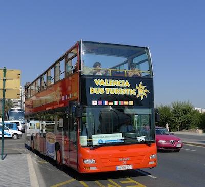 Sightseeing Bus in Spain
