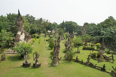 Buddha Park, Vientiane by Patrik M. Loeff via https://www.flickr.com/photos/bupia/1962306998/