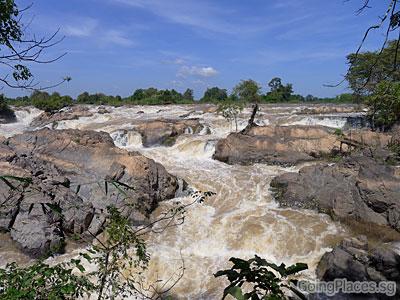 Khone Phapheng Falls, Southern Laos near Cambodia border