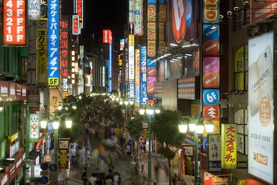 Shinjuku at Night by Attila Malarik via https://www.flickr.com/photos/indy138/1396002796/