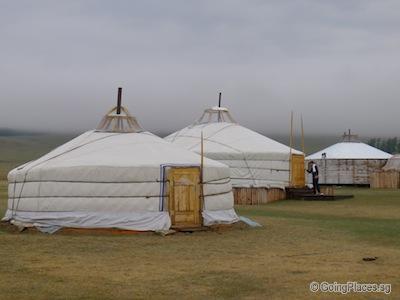 Ancient Resort in Lake Hovsgol