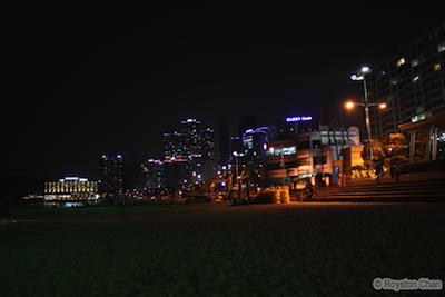 Haeundae Beach Night View